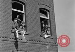 Image of 4th Cavalry Regiment M10 Tank destroyer enters town Grevenbroich Germany, 1945, second 12 stock footage video 65675072985
