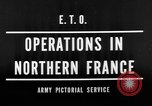Image of Allied Invasion France, 1944, second 8 stock footage video 65675073005