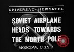 Image of Russian airmen Moscow Russia Soviet Union, 1937, second 5 stock footage video 65675073020