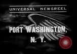 Image of Bermuda clipper Port Washington New York USA, 1937, second 1 stock footage video 65675073022