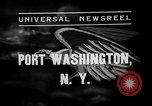 Image of Bermuda clipper Port Washington New York USA, 1937, second 2 stock footage video 65675073022