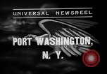 Image of Bermuda clipper Port Washington New York USA, 1937, second 3 stock footage video 65675073022