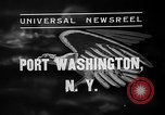 Image of Bermuda clipper Port Washington New York USA, 1937, second 5 stock footage video 65675073022