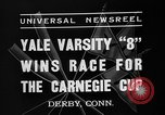 Image of Carnegie crew race Derby Connecticut USA, 1937, second 10 stock footage video 65675073025