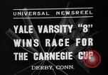 Image of Carnegie crew race Derby Connecticut USA, 1937, second 11 stock footage video 65675073025