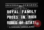 Image of Coronation ceremonies London England United Kingdom, 1937, second 2 stock footage video 65675073027