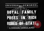 Image of Coronation ceremonies London England United Kingdom, 1937, second 6 stock footage video 65675073027