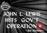 Image of John L Lewis Washington DC USA, 1947, second 1 stock footage video 65675073030