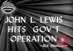 Image of John L Lewis Washington DC USA, 1947, second 2 stock footage video 65675073030