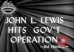 Image of John L Lewis Washington DC USA, 1947, second 3 stock footage video 65675073030