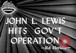 Image of John L Lewis Washington DC USA, 1947, second 5 stock footage video 65675073030