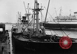 Image of arrival of coal Genoa Italy, 1947, second 4 stock footage video 65675073035