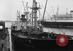 Image of arrival of coal Genoa Italy, 1947, second 9 stock footage video 65675073035