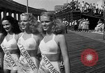 Image of Miss America contest Atlantic City New Jersey USA, 1947, second 9 stock footage video 65675073036