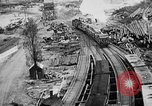 Image of Supply port and rail for Army base section 2 Bordeaux France, 1918, second 4 stock footage video 65675073058