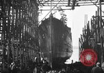 Image of ship launching United States USA, 1918, second 6 stock footage video 65675073070