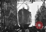 Image of ship launching United States USA, 1918, second 7 stock footage video 65675073070
