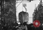 Image of ship launching United States USA, 1918, second 11 stock footage video 65675073070