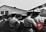 Image of West Point Cadets learn about airplanes at Mitchel Field Hempstead New York USA, 1937, second 8 stock footage video 65675073086