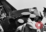 Image of West Point Cadets learn about airplanes at Mitchel Field Hempstead New York USA, 1937, second 11 stock footage video 65675073086