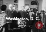 Image of Dwight D Eisenhower Washington DC USA, 1954, second 6 stock footage video 65675073120