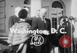 Image of Dwight D Eisenhower Washington DC USA, 1954, second 7 stock footage video 65675073120
