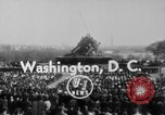Image of flag raising Washington DC USA, 1954, second 1 stock footage video 65675073121