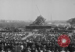 Image of flag raising Washington DC USA, 1954, second 2 stock footage video 65675073121