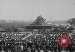 Image of flag raising Washington DC USA, 1954, second 4 stock footage video 65675073121