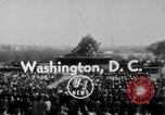 Image of flag raising Washington DC USA, 1954, second 6 stock footage video 65675073121