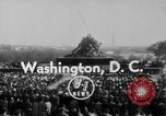 Image of flag raising Washington DC USA, 1954, second 7 stock footage video 65675073121