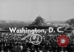 Image of flag raising Washington DC USA, 1954, second 8 stock footage video 65675073121