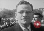 Image of flag raising Washington DC USA, 1954, second 11 stock footage video 65675073121