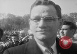 Image of flag raising Washington DC USA, 1954, second 12 stock footage video 65675073121