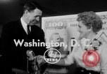 Image of Judy Holliday Washington DC USA, 1954, second 2 stock footage video 65675073122