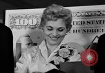 Image of Judy Holliday Washington DC USA, 1954, second 9 stock footage video 65675073122
