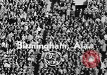 Image of football game Birmingham Alabama USA, 1954, second 2 stock footage video 65675073126