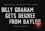 Image of Billy Graham Waco Texas USA, 1954, second 2 stock footage video 65675073127