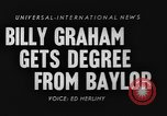Image of Billy Graham Waco Texas USA, 1954, second 5 stock footage video 65675073127