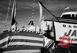 Image of DC-7 christening ceremony San Francisco California USA, 1957, second 6 stock footage video 65675073133