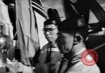 Image of DC-7 christening ceremony San Francisco California USA, 1957, second 11 stock footage video 65675073133