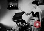 Image of lifestyle France, 1949, second 10 stock footage video 65675073140