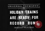 Image of toy train New York United States USA, 1936, second 5 stock footage video 65675073145