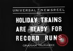 Image of toy train New York United States USA, 1936, second 6 stock footage video 65675073145