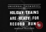 Image of toy train New York United States USA, 1936, second 8 stock footage video 65675073145