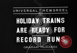 Image of toy train New York United States USA, 1936, second 9 stock footage video 65675073145