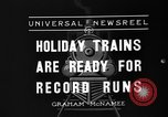 Image of toy train New York United States USA, 1936, second 10 stock footage video 65675073145