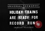 Image of toy train New York United States USA, 1936, second 11 stock footage video 65675073145