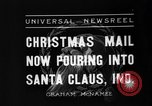 Image of children at workshop Santa Claus Indiana USA, 1936, second 5 stock footage video 65675073146