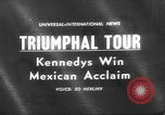 Image of John F Kennedy Mexico, 1962, second 1 stock footage video 65675073149